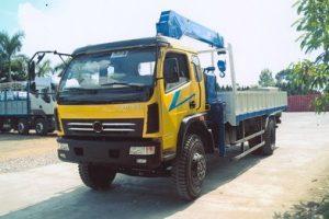 Xe tải gắn cẩu Tadano 5 tấn