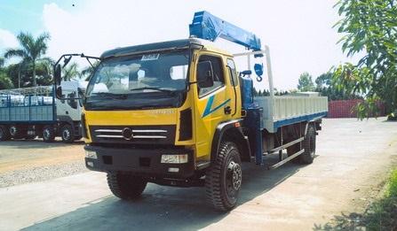 Dongfeng Việt Trung 7 tấn gắn cẩu Tadano 5 tấn , xe tải cẩu 5 tấn mới 2021/2022