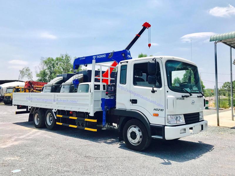 Xe Hyundai gắn cẩu Tadano 3 tấn mới 2021/2022
